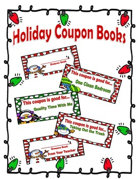 Christmas/Holiday Coupon Books