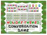 Christmas/Holiday-themed conversation game - Pragmatics, ESL, ASD, Speech