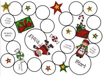 Christmas/Holiday/Santa/Elves {Game Boards}