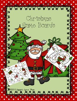 Christmas/Holiday/Santa/Elves {Game Boards}