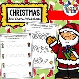 Christmas Activities Fine Motor Skill Worksheets