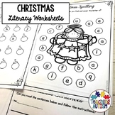 Christmas Activities Literacy Worksheets