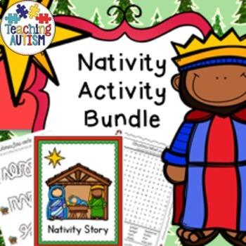 Christmas Nativity Story Activity Bundle