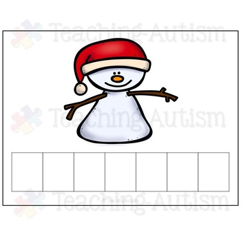 Christmas Activities: Spelling and Handwriting Cards
