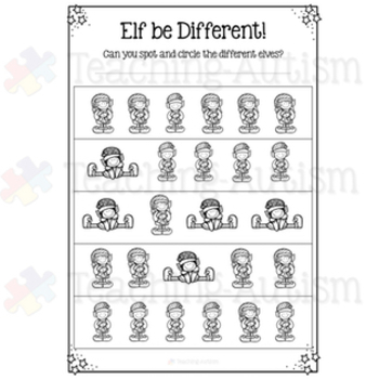 Classroom Elf Christmas Activity Pack