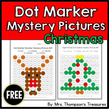 Free Christmas Mystery Pictures