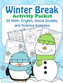 Christmas/Winter Break  Packet- 1st Grade