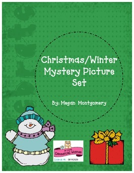 Christmas/Winter Mystery Picture Pack