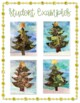Christmas/Winter Tree Collage Art Project