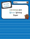 Christmas/Winter Writing Paper