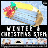 Christmas STEM Challenges and Winter STEM Challenges Bundle