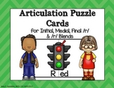 Articulation Puzzle Cards for /r/