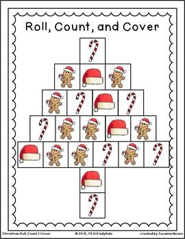 Christmas BUNDLE: Songs & Rhymes + Tree Craftivity + Math Games