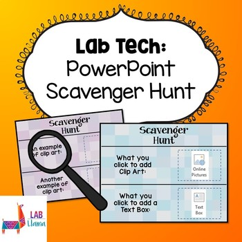 PowerPoint Scavenger Hunt