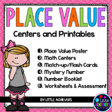 Place Value Tens and Ones Activities with Base Ten Blocks Worksheets