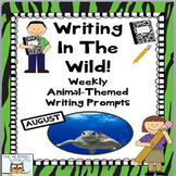 Literacy Centers: August | Animal Picture Prompts Literacy