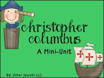Christopher Columbus Mini-Unit
