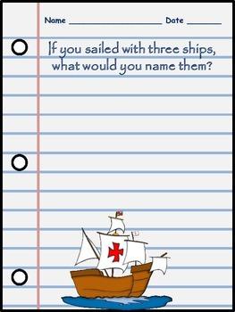 Christoper Columbus Activity Packet