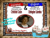 Christopher Colombus English-Spanish bundle