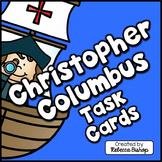 Christopher Columbus Task Cards (Columbus Day)