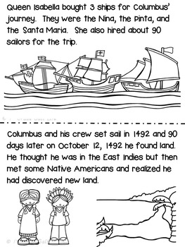 Christopher Columbus / Columbus Day Mini Unit and Activities