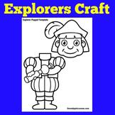Christopher Columbus Craft   Explorer Classroom Theme   Explorer Craft