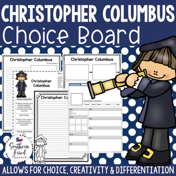 Columbus Day Choice Board