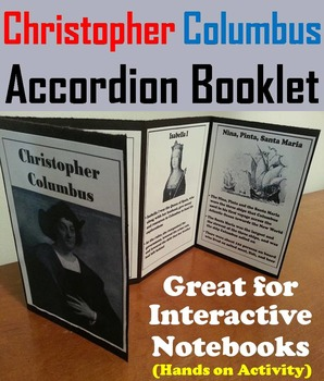Christopher Columbus Unit: Interactive Notebook Foldable