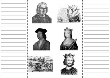 Christopher Columbus Day Lapbook: Interactive Notebook Foldable