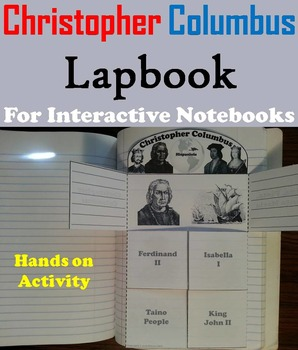 Christopher Columbus Unit: Interactive Notebook Foldable