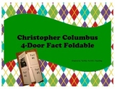 Christopher Columbus 4-Door Fact Foldable