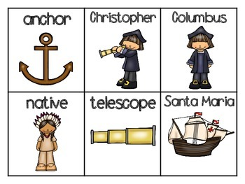 Christopher Columbus ABC Order