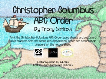 Christopher Columbus ABC Order