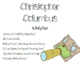 Christopher Columbus Activity Pack
