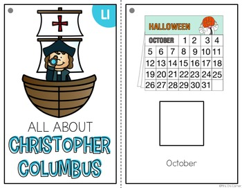 Christopher Columbus Adapted Book { Level 1 and Level 2 }