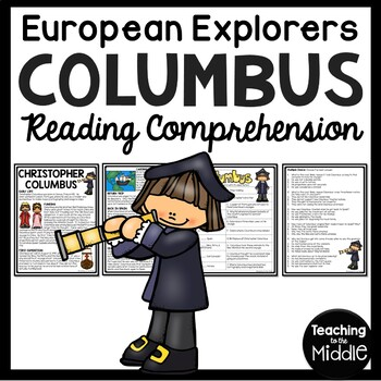 Christopher Columbus Article and Questions, Explorers, Col