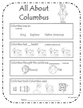 Christopher Columbus Assessment
