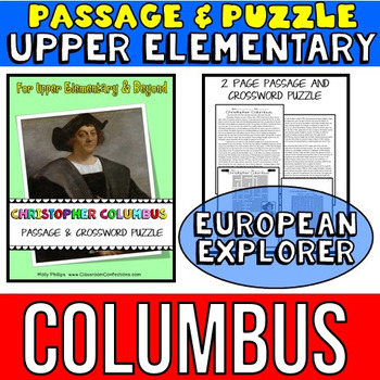 Columbus Day Activity: Christopher Columbus Biography Reading Passage