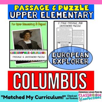Columbus Day Activity: Christopher Columbus Biography Read