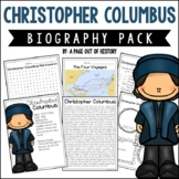 Christopher Columbus Biography Pack (New World Explorers)