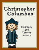 Christopher Columbus Biography and Timeline Activity