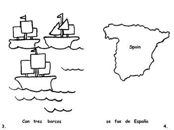 Christopher Columbus Book Spanish Version