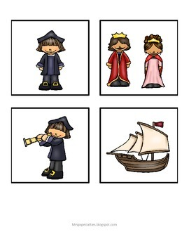 Christopher Columbus Book and Interactive Set