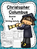 Columbus Day - Christopher Columbus Booklet and Writing Activity - Low Prep!