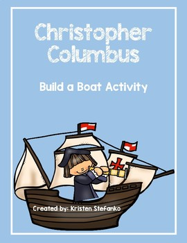 Christopher Columbus Build a Boat Activity