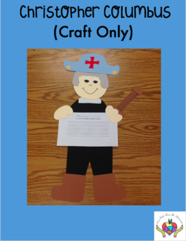 Christopher Columbus CRAFT ONLY