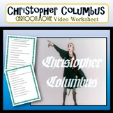 Christopher Columbus Cartoon Movie and Worksheet Questions