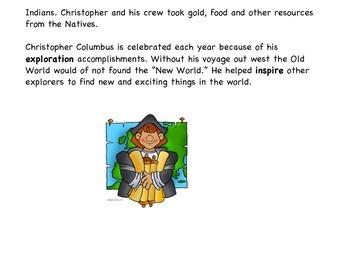 Christopher Columbus Close Read