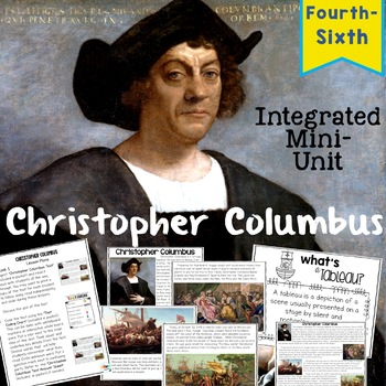 Christopher Columbus: Integrated ELA and SS Mini-Unit for Upper Grades