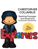 Christopher Columbus Close Reading Passage and Questions